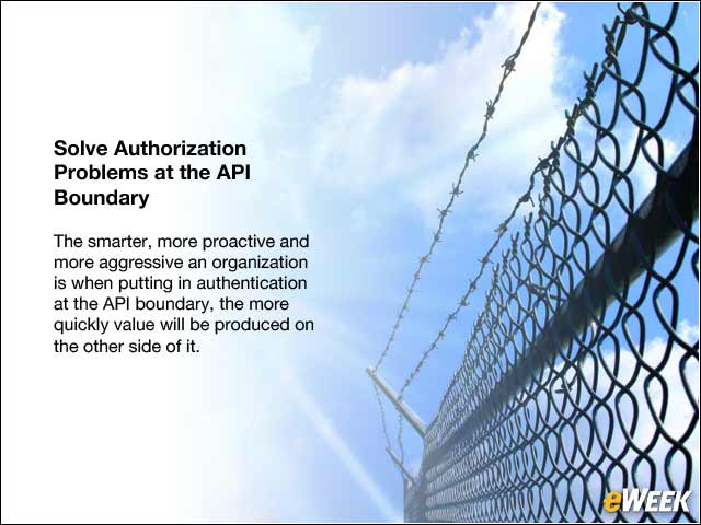 10 - Solve Authorization Problems at the API Boundary