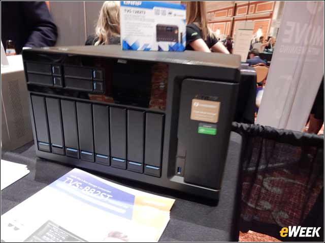 7 - Qnap Shows Off Thunderbolt 3 Storage for SMBs