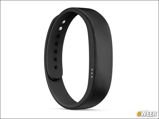 7 - Sony Smartband SWR10 Helps You Stay Fit