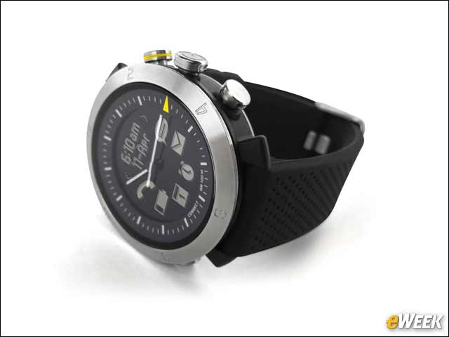 9 - A Smartwatch With an Analog Look