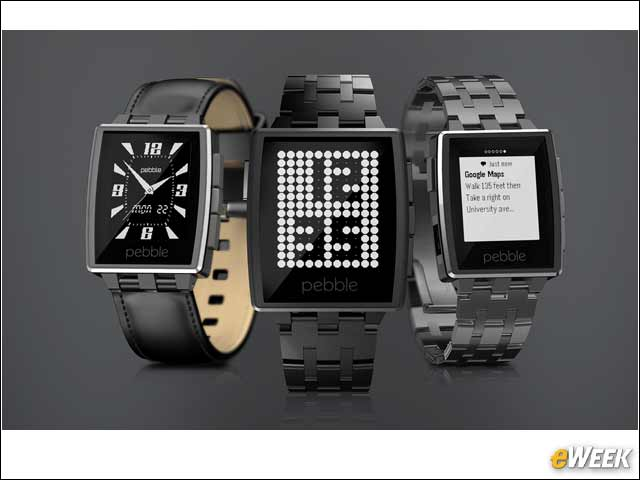 10 - Pebble Steel Is One Tough Smartwatch