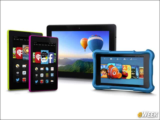 2 - Fire HD Family Boasts Four New Members