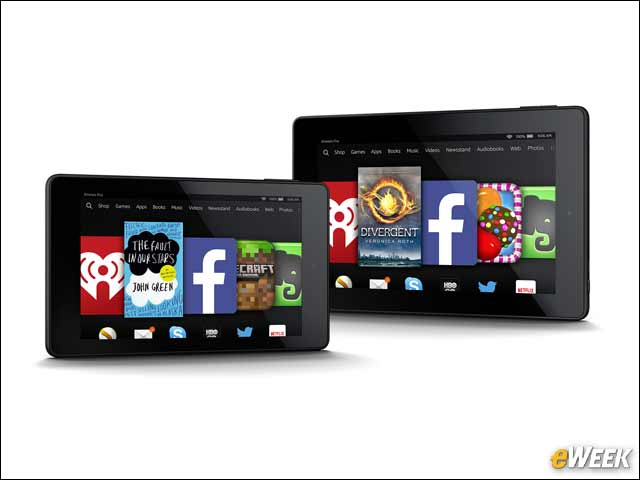 1 - Amazon's Latest Kindles, Fire HD Tablets Boast More Speed, Storage