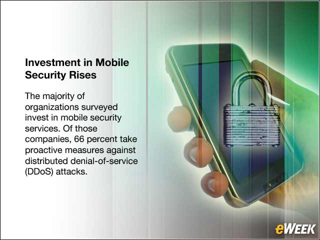 4 - Investment in Mobile Security Rises