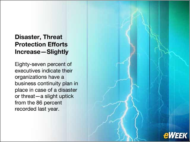 9 - Disaster, Threat Protection Efforts Increase—Slightly