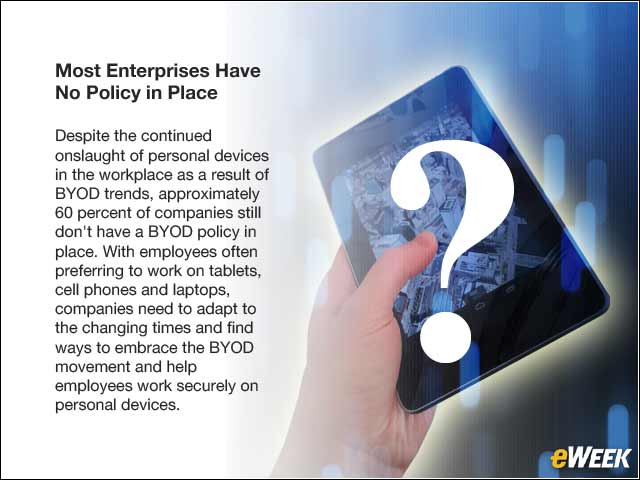 2 - Most Enterprises Have No Policy in Place