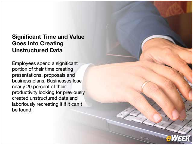 6 - Significant Time and Value Goes Into Creating Unstructured Data