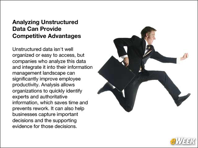 7 - Analyzing Unstructured Data Can Provide Competitive Advantages