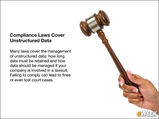10 - Compliance Laws Cover Unstructured Data