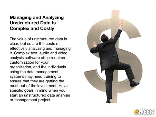 11 - Managing and Analyzing Unstructured Data Is Complex and Costly