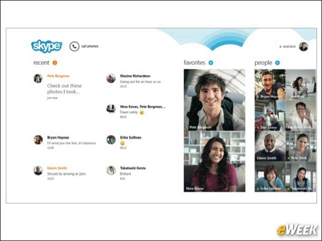 6 - Skype Integration Was a Smart Move