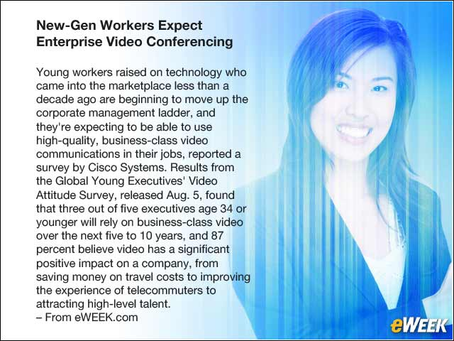 3 - New-Gen Workers Expect Enterprise Video Conferencing