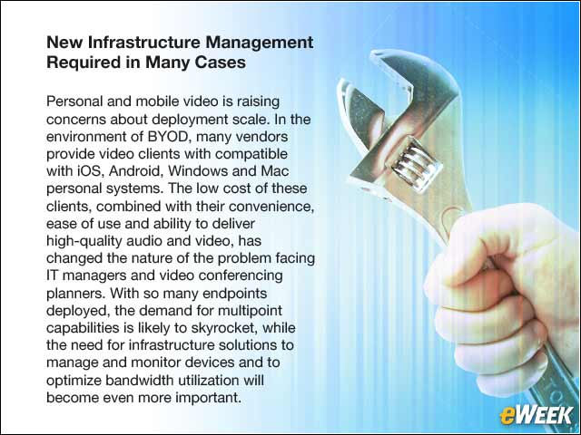6 - New Infrastructure Management Required in Many Cases