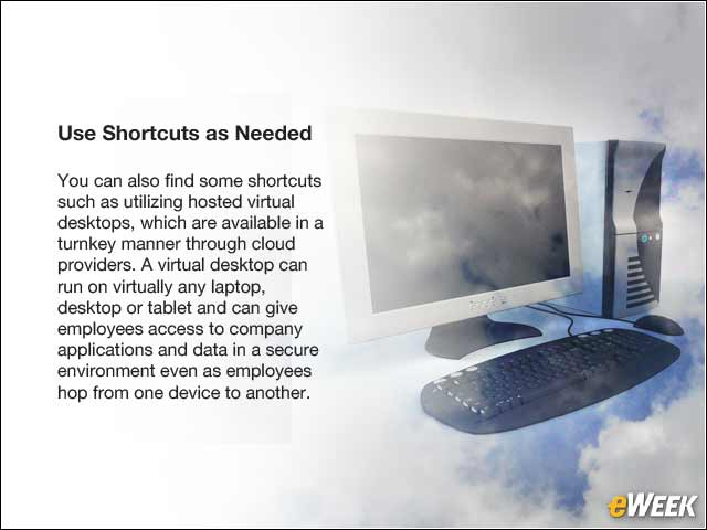 11 - Use Shortcuts as Needed
