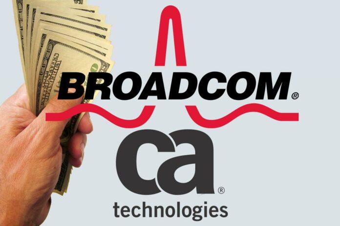 Broadcom Bids for CA Technology
