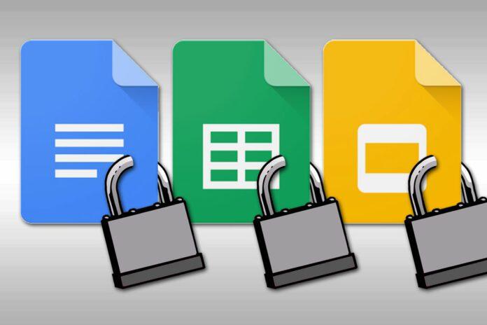 Google Docs File Lockdown