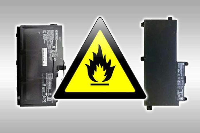 HP Notebook Battery Recall