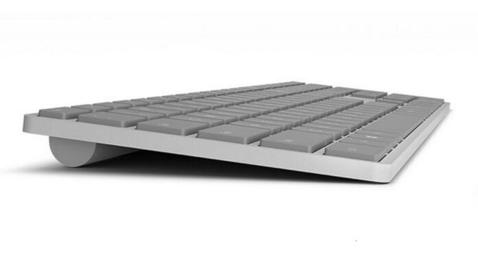 Microsoft Biometric Keyboard
