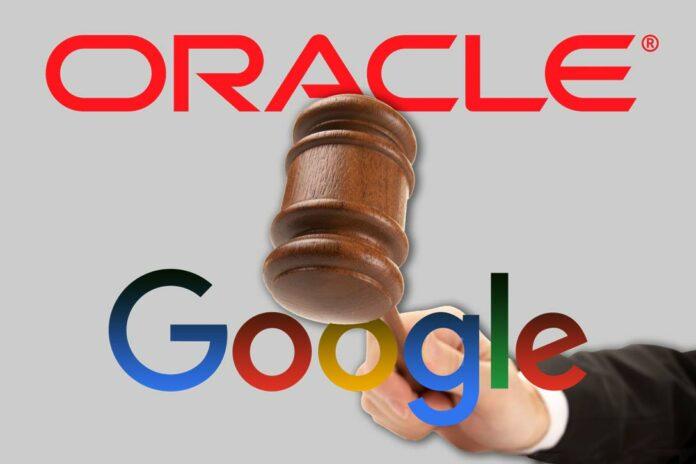 Oracle Google Java