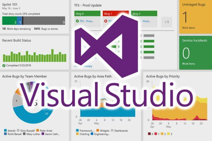 Visual Studio Admin Dashboards