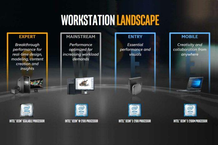 Intel Xeon workstation