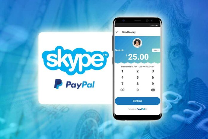 Skype PayPal Payments