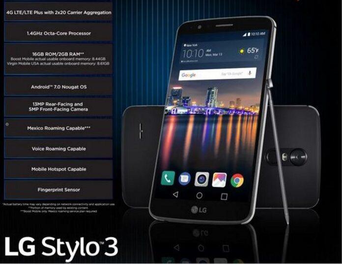 LG Stylo 3 Handset