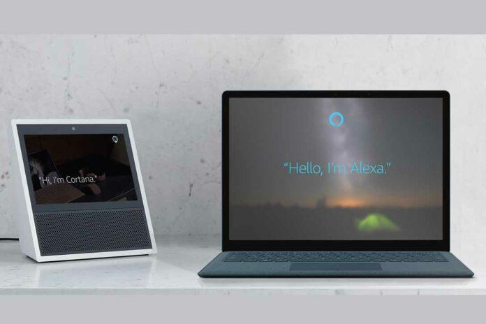 Alexa-Cortana Lash Up