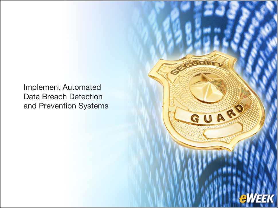 8 - Focus on Automated Detection and Prevention