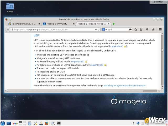 4 - UEFI Support Comes to Mageia