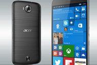 Acer Windows 10 smartphone