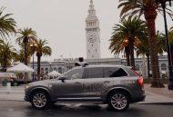 Uber Driverless Car SF 2