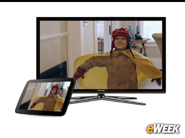 4-Wireless Streaming to a TV Through Miracast