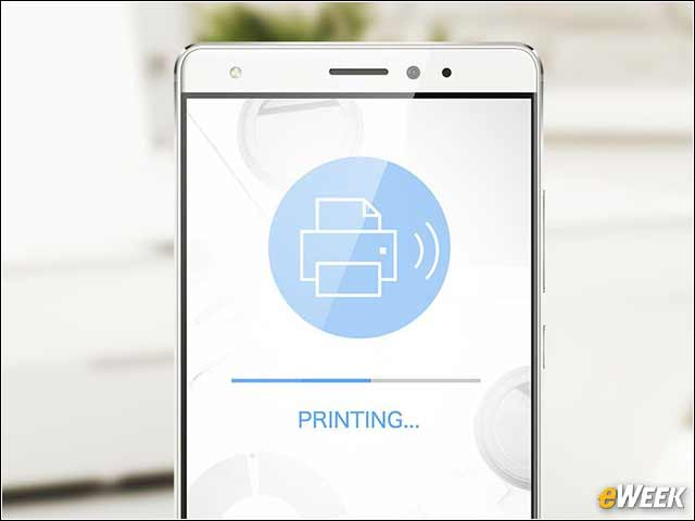 8 - Mate S Provides Easy Access to Printing
