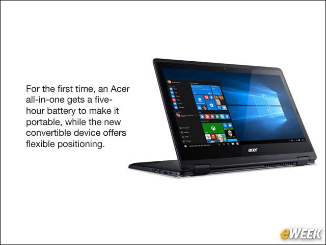 1 - Acer Brings Windows 10 to Portable All-in-One and New Convertible