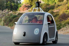 Google Prototype Car