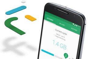 Google Project Fi Data Plan