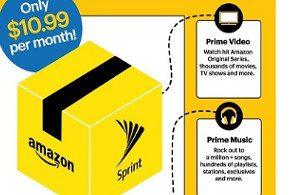 Sprint offers Amazon Prime