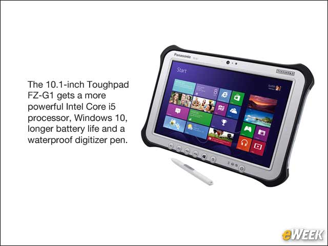1 - Panasonic Updates Toughpad FZ-G1 With More Power, Longer Battery Life