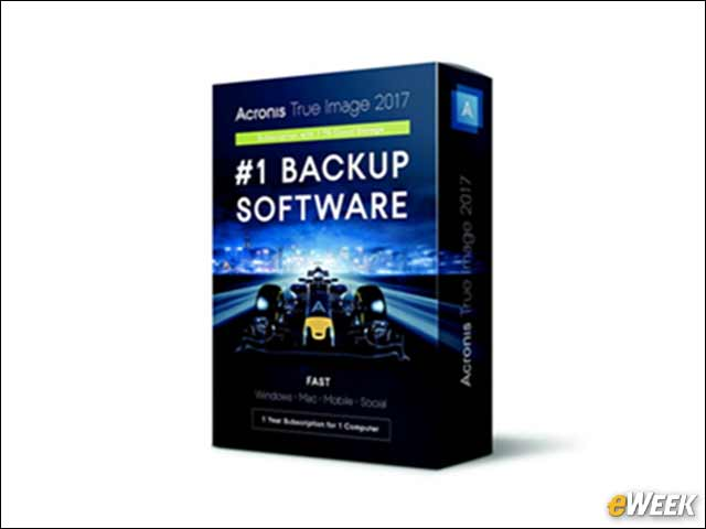6 - Acronis' Backup Software Stores Your Facebook Profile