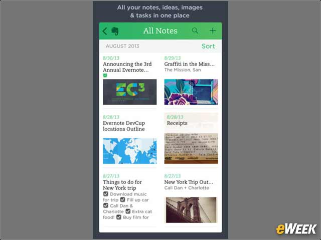 3 - Evernote for Text, Voice and Video Creation