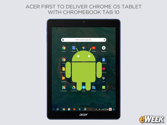 Android Apps Also Work on This Tablet