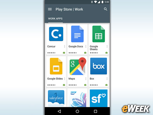 There Is a Modified Google Play Store for Business