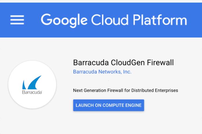 Barracuda CloudGen GCP
