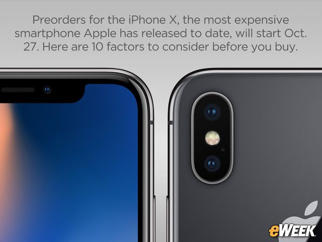 10 Factors to Consider Before Ordering Apple's iPhone X