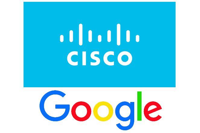 Cisco.Google.logos