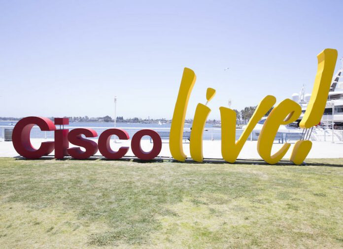 Cisco.Live.sign