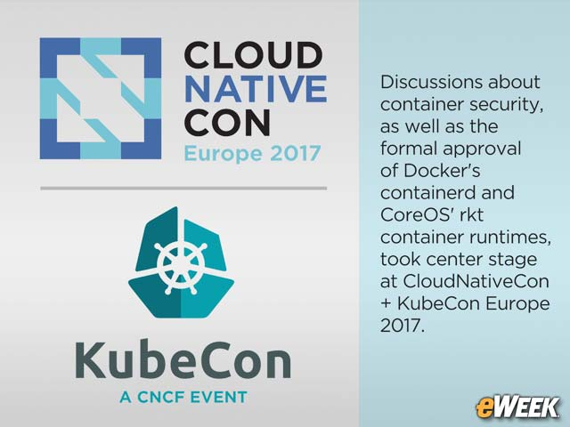 Container Orchestration Moves Forward at Cloud Native Computing Event