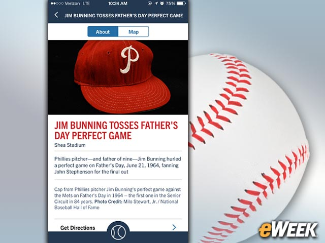 Jim Bunning's Perfect Game for the Phillies