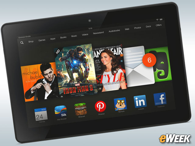 Kindle Fire Is Barely Hanging On
